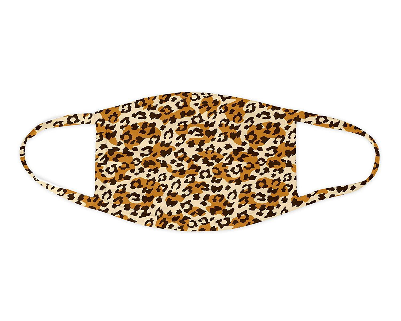 Paper Blast - Leopard Print Face Mask Washable Face ...