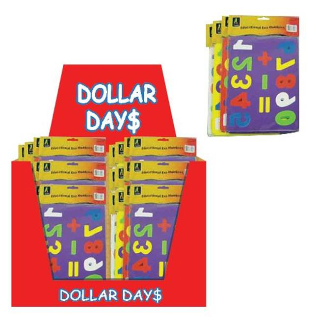 Deluxe Import Trading 51-44974 Childrens Foam Puzzle 48 Packs by