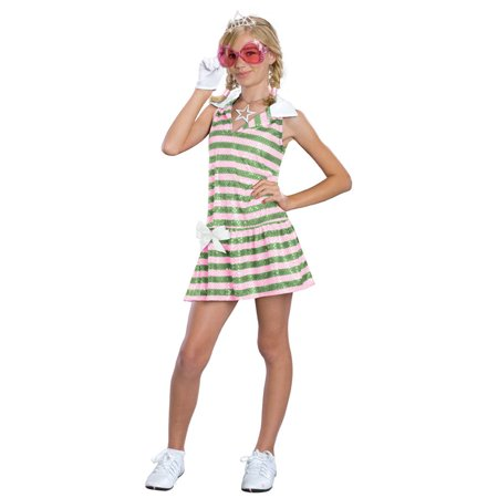 Golf Channel Halloween Costumes (Child Sharpay Golf Dress Costume Rubies)