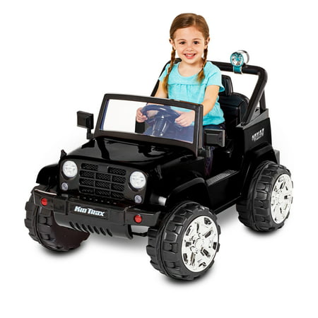 Kid Trax Fun Chaser 6V Battery Powered Ride-On, Black Now $99 (Was $149)