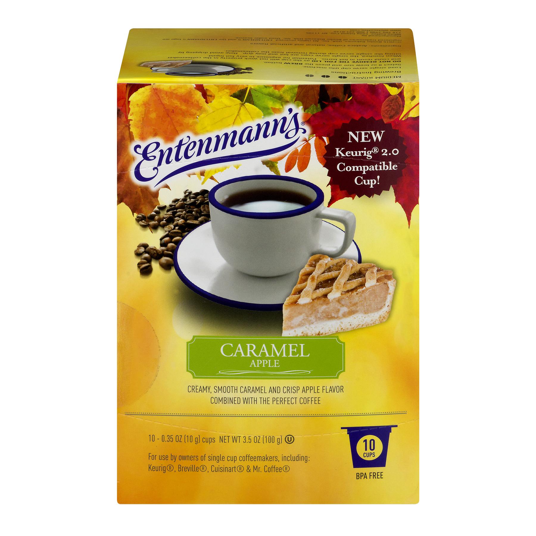 Entenmann's Coffee Single Cup Caramel Apple, 0.35 OZ