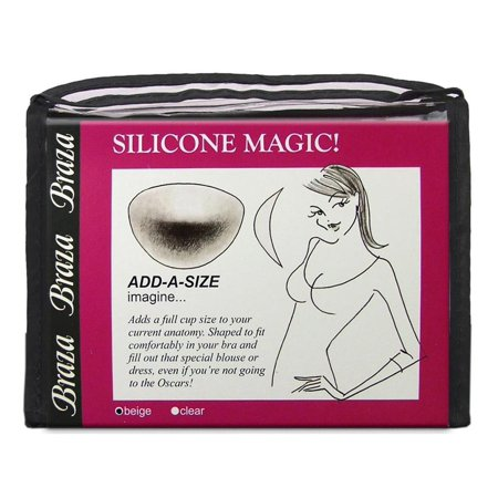Braza Silicone Magic Enhancers Add A Size Clear