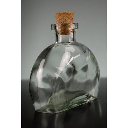 351fb62e1f32 Pack of 12 Fiji Clear Glass Bottles 6 Ounce /176Ml 3/4in. Top 2in. Wide x 4  1/4in. Tallcork Topsfood Safe