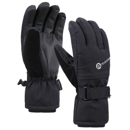 e9afea8198e9f1 Jasmine Waterproof Thinsulate Lined Ski Snowboard Gloves Winter Gloves,Black,M  - Walmart.com