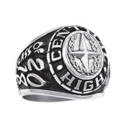 Personalized Men's Limited Plus Class Ring available in Valadium
