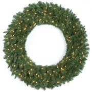 Autograph Foliages C-130471 48 in. Monroe Wreath, Green