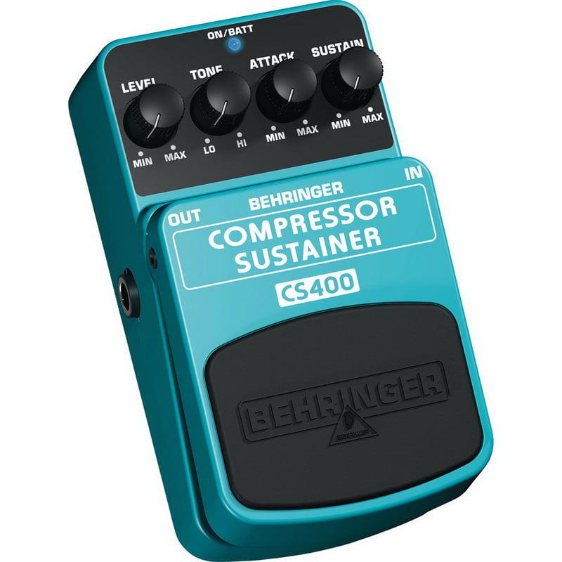 Behringer CS400 Compressor / Sustainer Effects Pedal