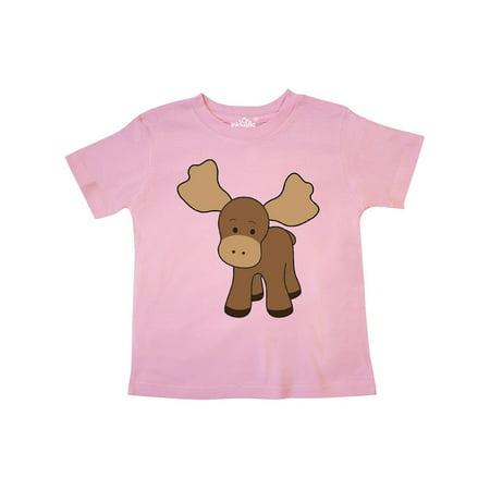 Cute Moose Toddler T-Shirt