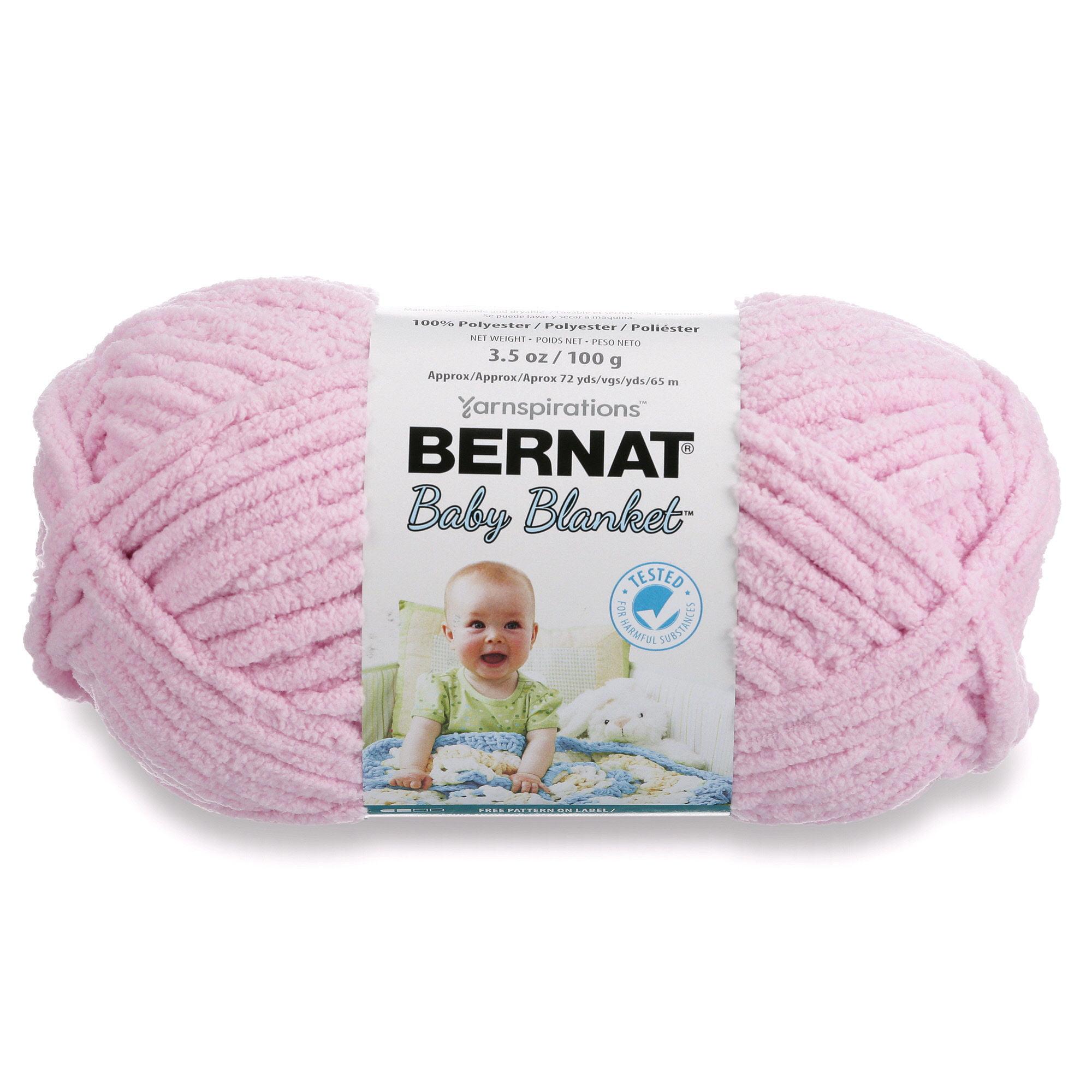 Bernat Baby Blanket Yarn (100g/3.5 oz), Lilac
