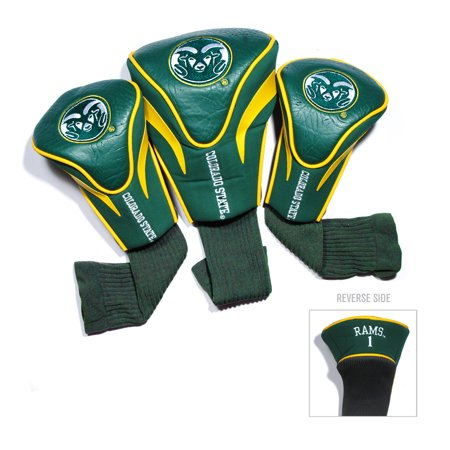Team Golf NCAA Colorado State Rams 3 Pack Contour Head Covers ()