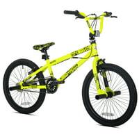 "Kent 20"" Thruster Chaos Boys BMX Bike, Neon Yellow"