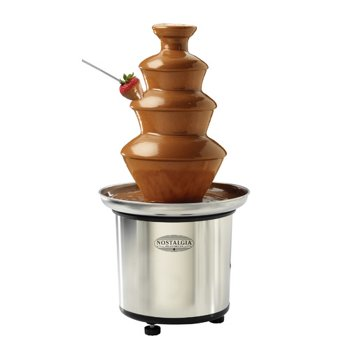Nostalgia Electrics 3-Tier Chocolate Fondue Fountain