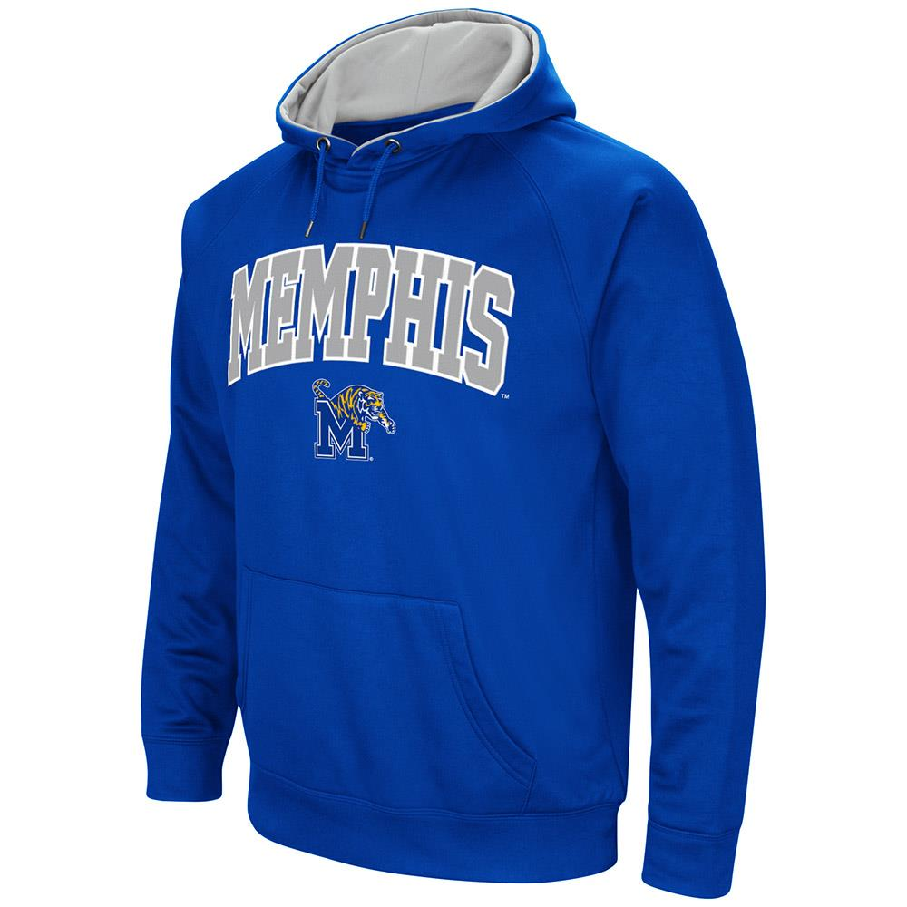 Mens NCAA Memphis Tigers Fleece Pull-over Hoodie by Colosseum