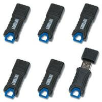 GorillaDrive 64GB Ruggedized USB Flash Drive (6-Pack)