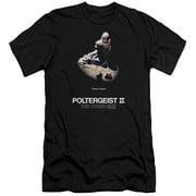 Poltergeist II Poster Mens Slim Fit Shirt
