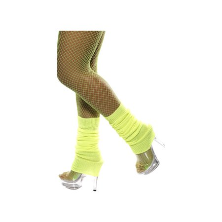 Adult Yellow Legwarmers by Smiffys 32799 - Smiffys Halloween Props