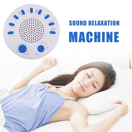 9 Sounds Sleep Monitor Therapy Spa Sleep Helper Solution Music Relax Machine