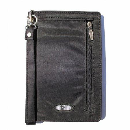 Big Skinny Plus-sized myPhone Cellphone Wallet Wristlet - Black ()