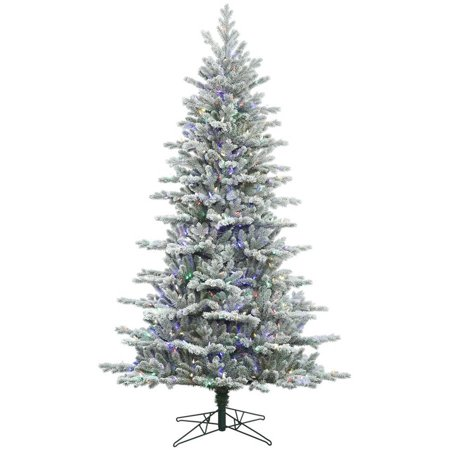 Vickerman 6.5\' Frosted Eastern Frasier Fir Artificial Christmas Tree ...