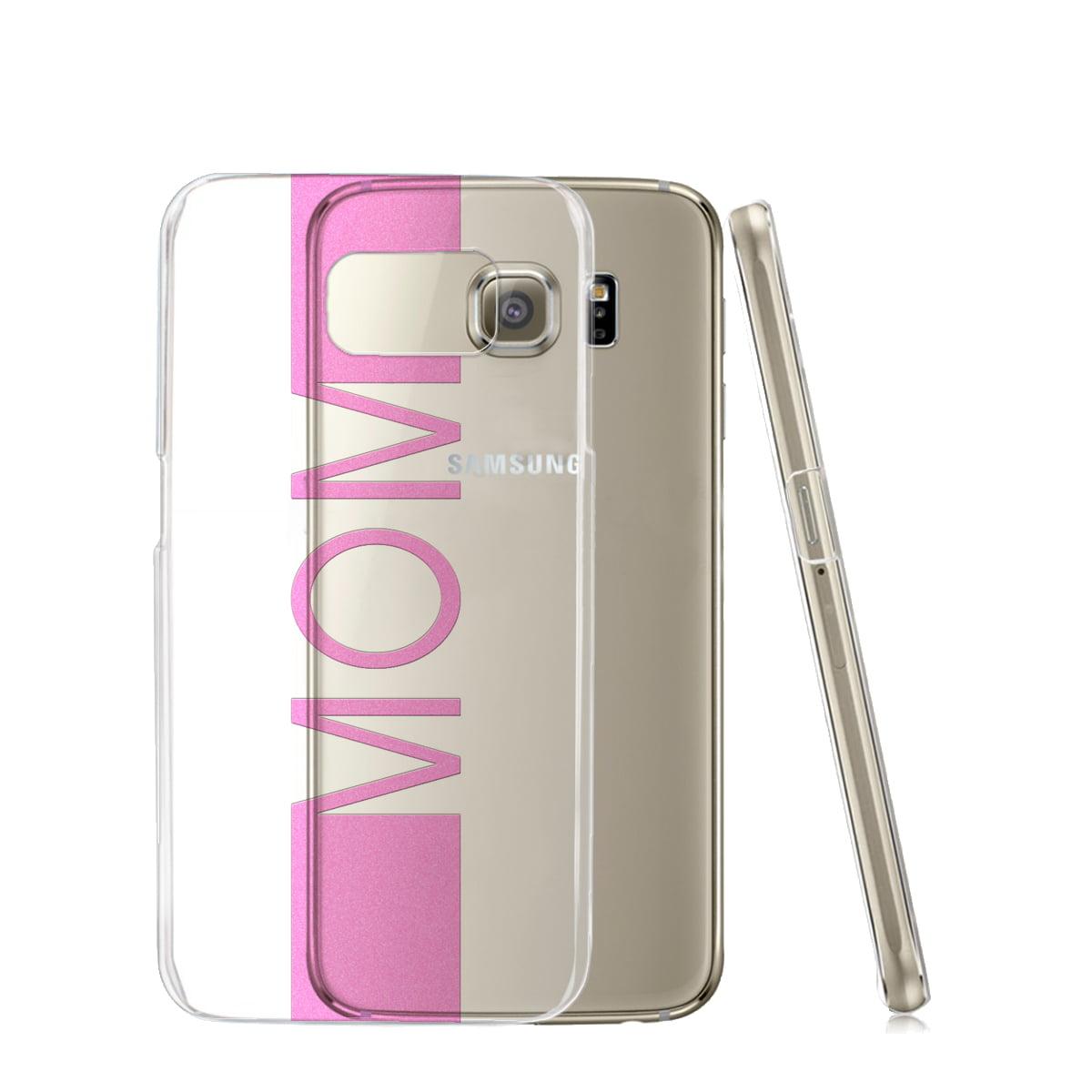 KuzmarK™ Samsung Galaxy S6 Clear Cover Case - Mom