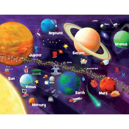 Masterpieces Solar System Glow 60 Piece Puzzle