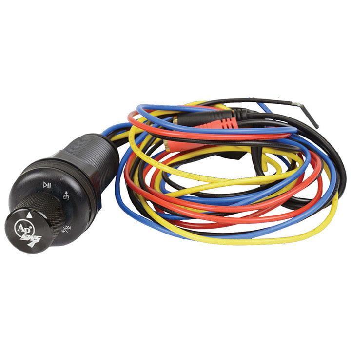 Audiopipe APSWKT100BT Marine Bt Audio Receiver Single Knob Style
