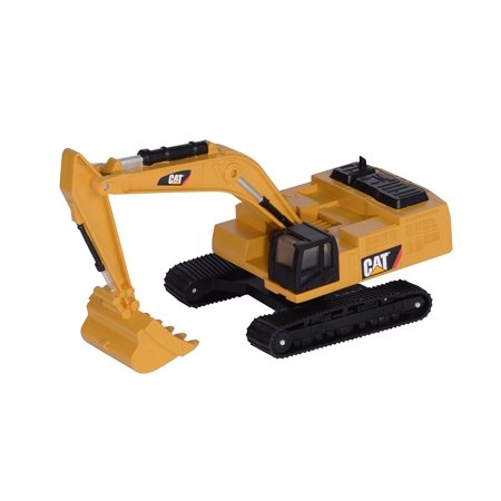 Toy State Caterpillar CAT Metal Machines 390D Excavator Diecast Vehicle, Die cast metal collection By Toystate