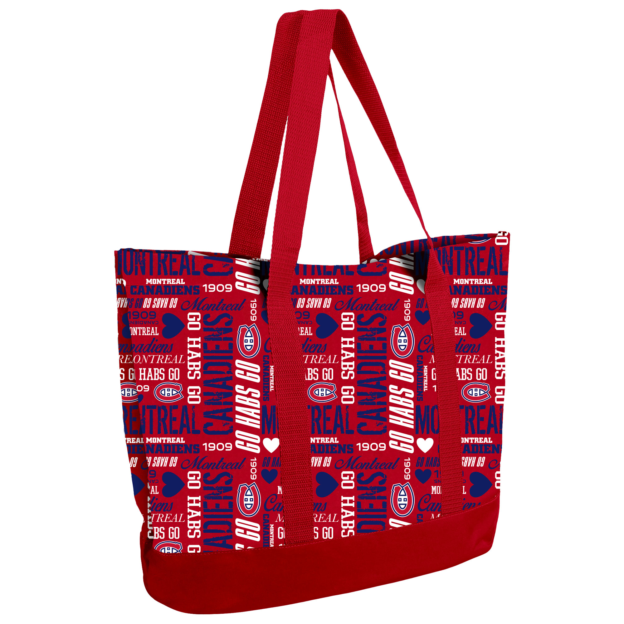 Montreal Canadiens Women's Collage Tote Bag - No Size