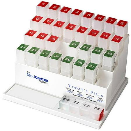 Medcenter 31 Day Medication Organizer