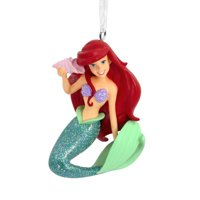 Hallmark Disney's The Little Mermaid: Ariel with Seashell Christmas Ornaments