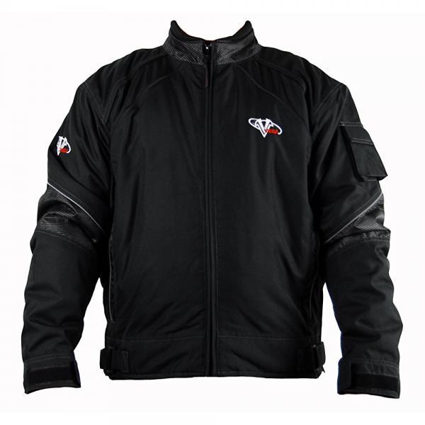 Vega Snowmobile Jacket (Black, Medium) by Vega