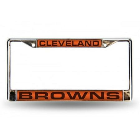 Cleveland Browns Laser Chrome License Plate Frame - image 2 of 2