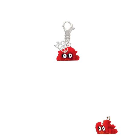 Resin Red Crab - 2019 Clip on Charm