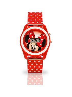 Disney Minnie Mouse LCD Digital Watch