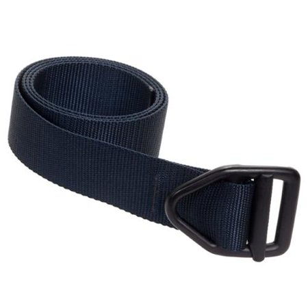 Bison Designs Last Chance Light Duty Black Buckle Belt   Navy