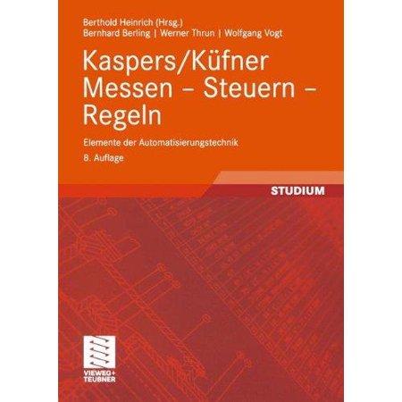 Kaspers/Kufner Messen Steuern Regeln - image 1 de 1