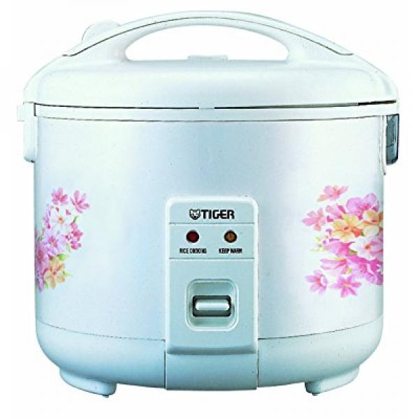 Tiger JNP-1800-FL 10-Cup (Uncooked) Rice Cooker and Warme...