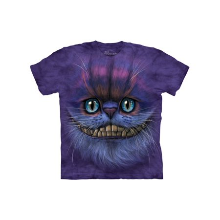 Purple Cotton Bf Cheshire Cat Design Novelty Adult T-Shirt NEW - Cheshire Cat Outfits