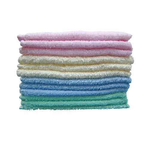 Textiles Plus Inc. 100pct Cotton Deluxe Wash Coth (Set of 12)