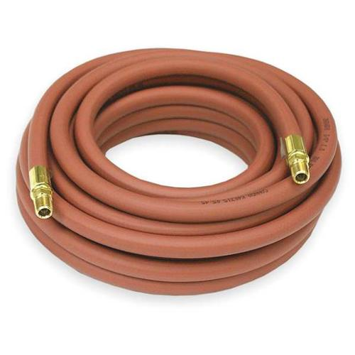 "REELCRAFT 1/2"" ID x 35 ft PVC Coupled Air Hose 300 PSI RD, S601021-35"
