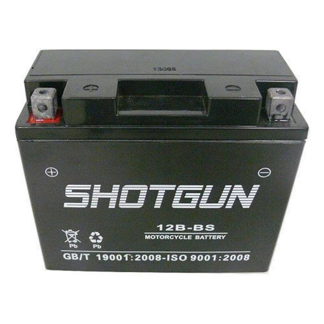 BatteryJack 12B-BS-Shotgun Shotgun YT12 - B4 Sealed Battery Ducati Superbike 749 New Monster M Dark 750 01