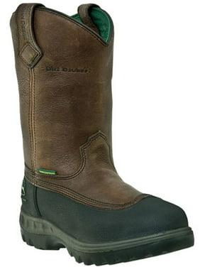"""Men's John Deere WCT 11"""" Wellington Boots BROWN 7.5 M"""