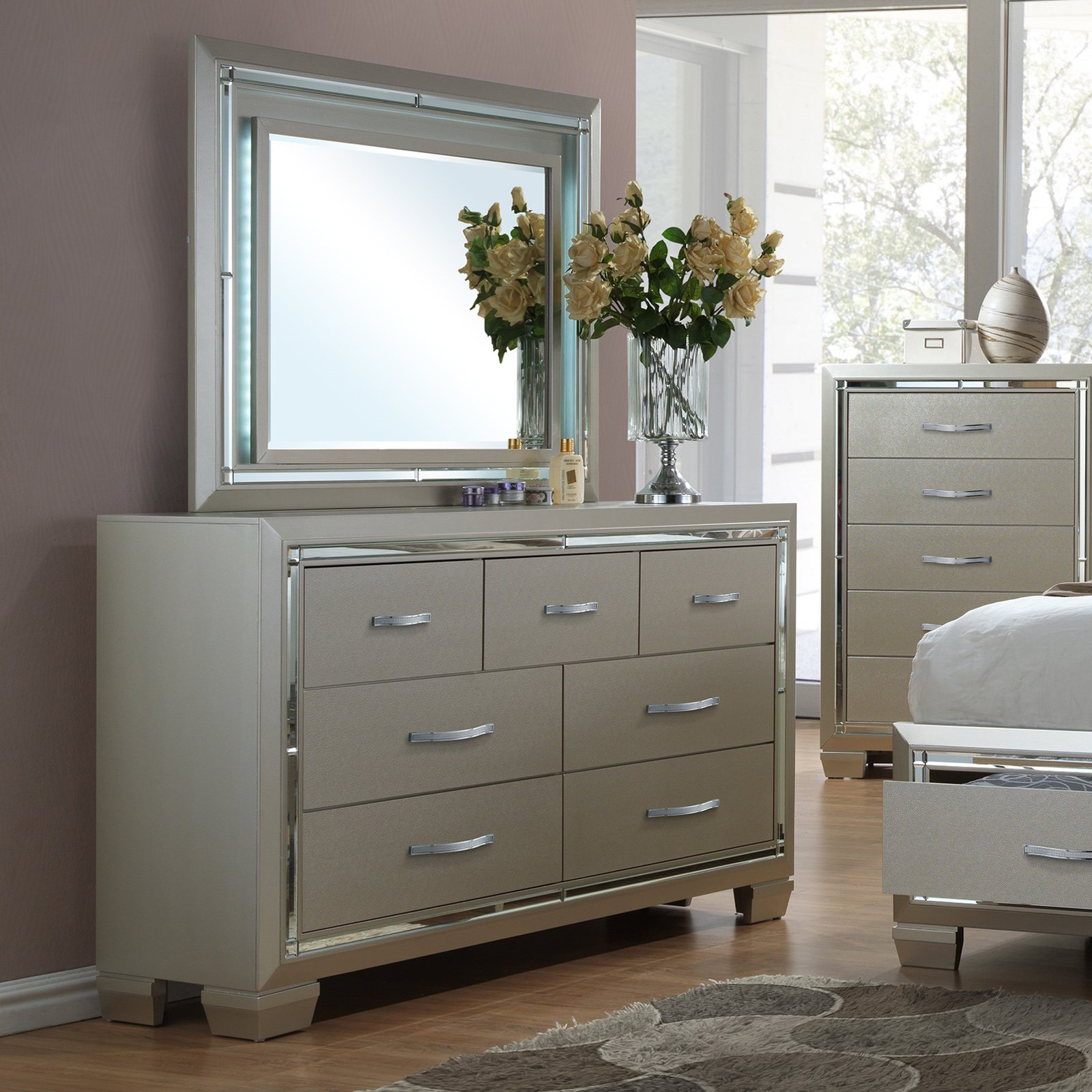 Picket House Furnishings Glamour 7 Drawer Dresser