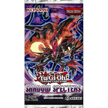 Yu-Gi-Oh Shadow Specters Booster Pack (Shadows Booster)