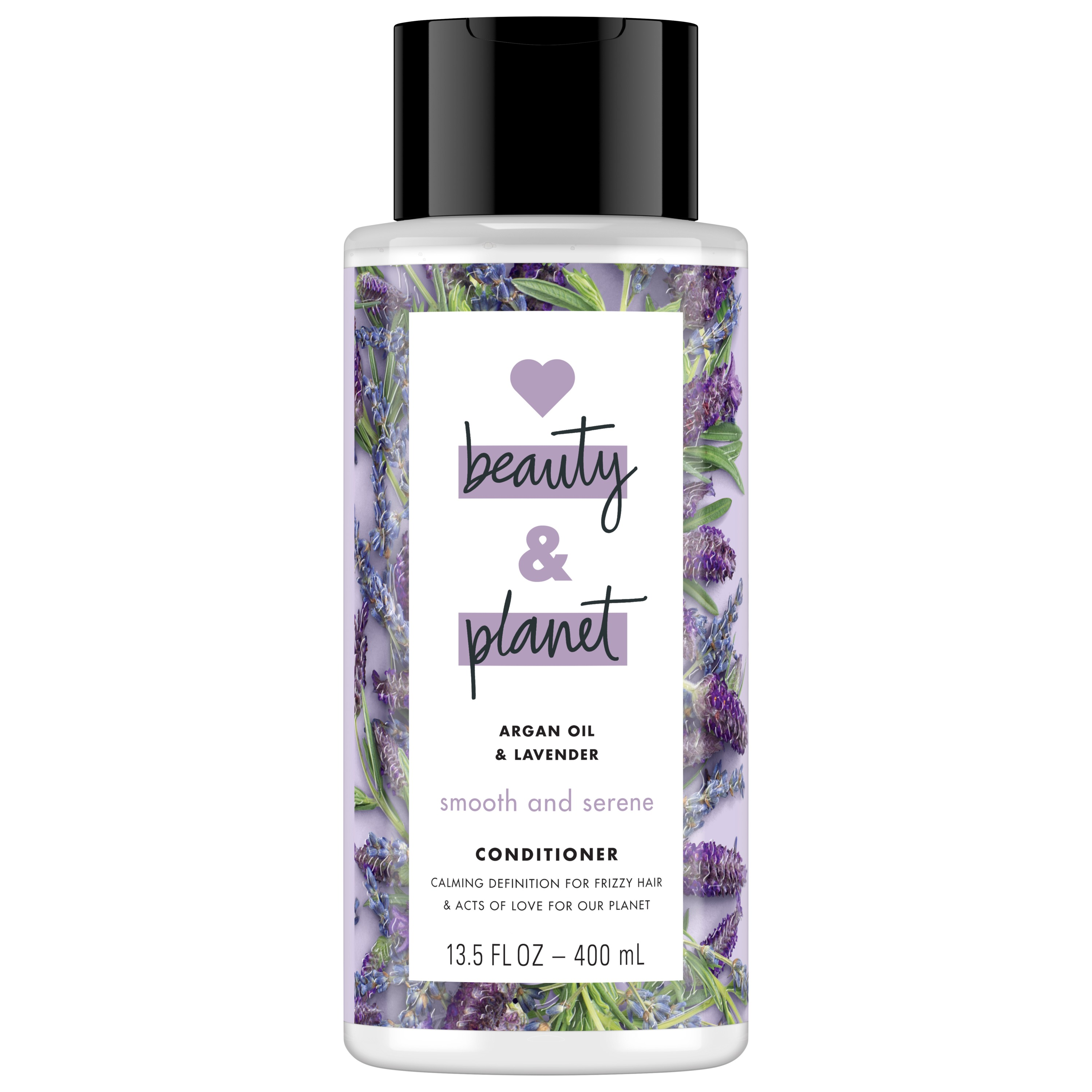 Love Beauty And Planet Smooth and Serene Argan Oil Conditioner, Argan Oil & Lavender 13.5 oz