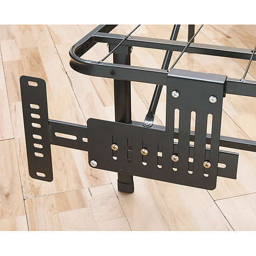 Premier Universal Headboard/Footboard Brackets, Black 2pc