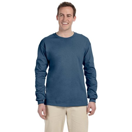 c96c6153a87c Gildan - Gildan Tee Shirt 2400 6.1 oz Ultra Cotton Long Sleeve - Walmart.com