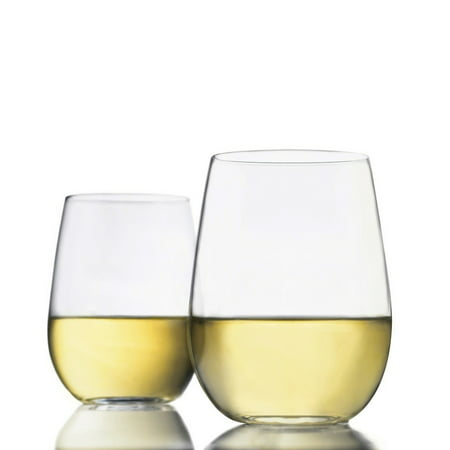 Libbey 17-oz. Stemless White Wine Glasses, Set of 8 ()
