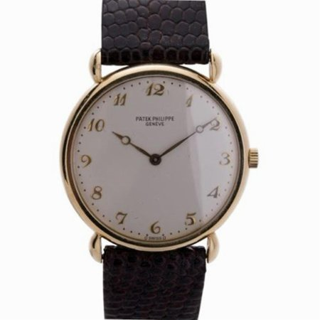Pre-Owned Patek Philippe Calatrava 3820 Gold Watch (Certified Authentic & Warranty)