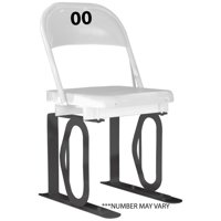Fanatics Authentic Daytona International Speedway White Generic Metal Chair with Black Track Bottom - No Size